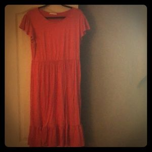 Woman's size Large Red/Coral dress